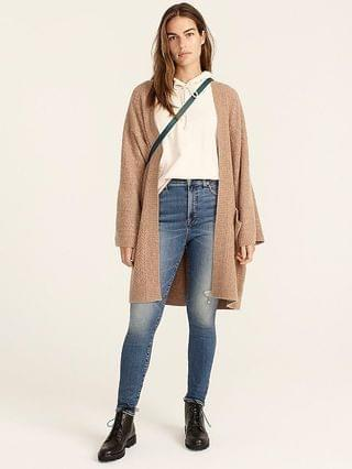 WOMEN Curvy high-rise toothpick jean in Hartley wash