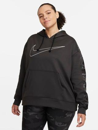 WOMEN Pullover Hoodie (Plus Size) Nike Therma
