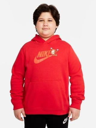 KIDS Big Kids' (Boys') Graphic Pullover Hoodie (Extended Size) Nike Sportswear Club