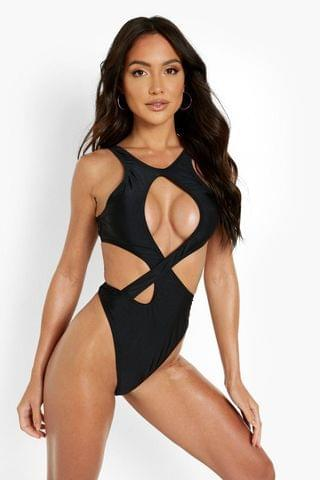 WOMEN Extreme Cut Out Detail Swimsuit