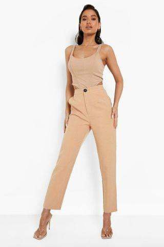 WOMEN Tailored Relaxed Fit Trousers