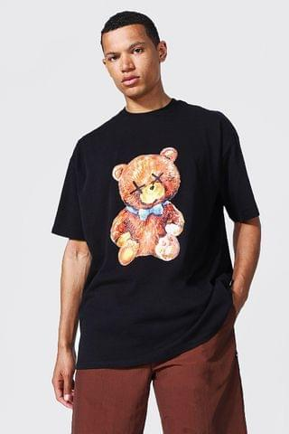 MEN Tall Teddy Oversized Collection T-shirt