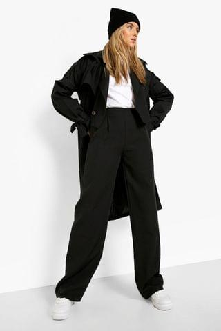 WOMEN Pleat Front Tailored Trousers
