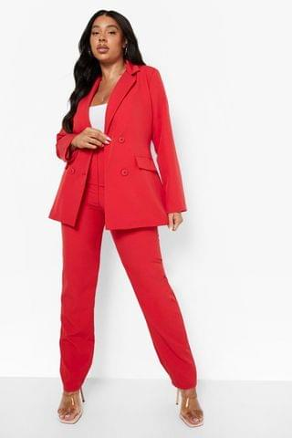 WOMEN Plus Tailored Suit Trousers