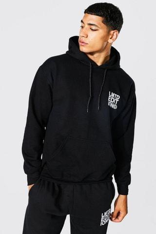 MEN Limited Edition Embroidered Hoodie