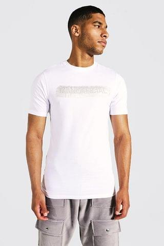 MEN Tall Man Official Muscle Fit Reflective Tee