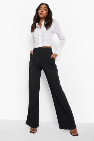 WOMEN Tall Recycled High Waisted Trousers