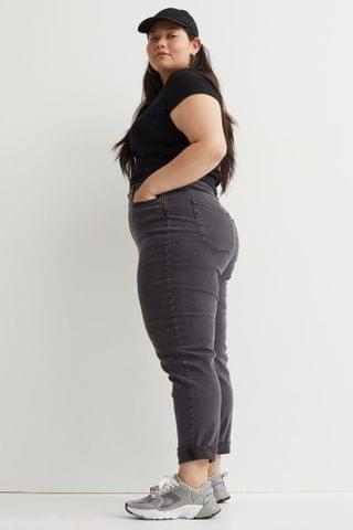 WOMEN H&M+ Mom High Ankle Jeans