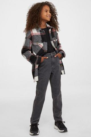 KIDS Relaxed Fit High Jeans