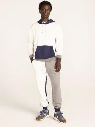 MEN French terry jogger sweatpant in colorblock