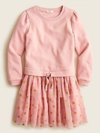 KIDS Girls' mixi dress with tulle skirt