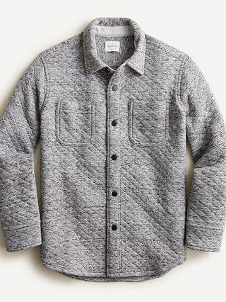 KIDS Boys' quilted knit shirt
