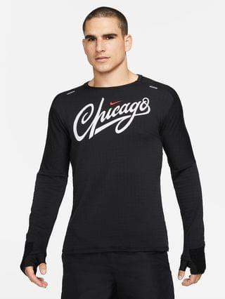 MEN Running Crew Nike Therma-FIT Chicago Element