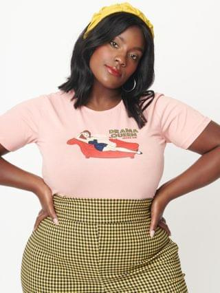 WOMEN Collectif Plus Size Drama Queen Womens Graphic Tee