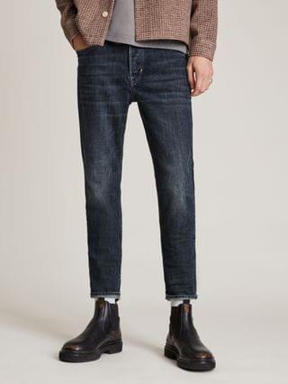 MEN Jack Cropped Straight Jeans