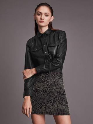 WOMEN Stanway Leather Shirt