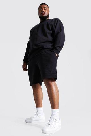 MEN Plus Recycled Basic Sweater Tracksuit