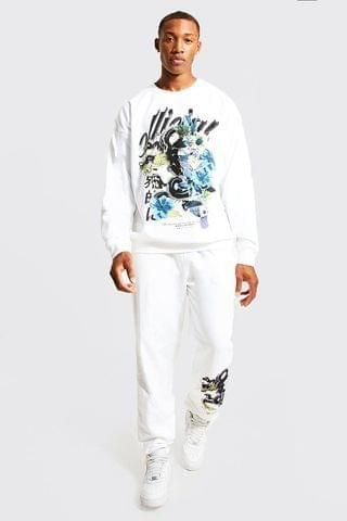 MEN Oversized Official Dragon Sweater Tracksuit