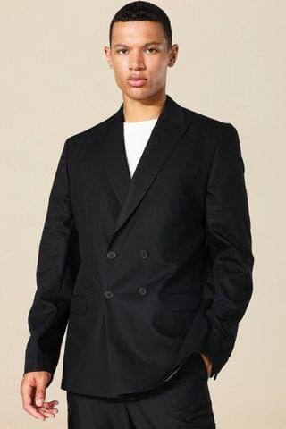 MEN Tall Oversized Double Breasted Suit Jacket