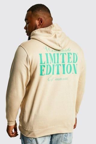 MEN Plus Official Man Front And Back Hoodie
