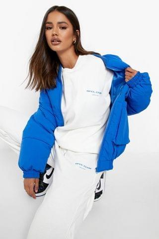 WOMEN Ofcl Club Print Sweater Tracksuit