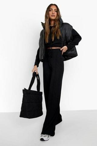 WOMEN Recycled Hoodie & Wide Leg Co-ord