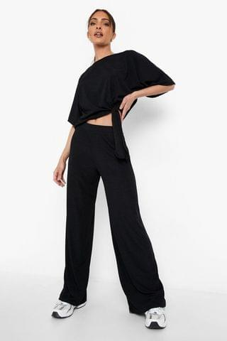 WOMEN Recycled T-shirt & Wide Leg Co-ord