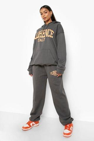 WOMEN Florence Printed Hooded Tracksuit
