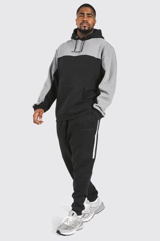 MEN Plus Official Man Tape Hooded Tracksuit