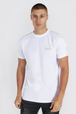 MEN Recycled Muscle Short Sleeve Ribbed Polo