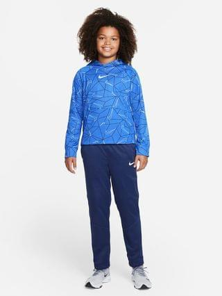 KIDS Big Kids' (Boys') Printed Pullover Hoodie (Extended Size) Nike Therma-FIT