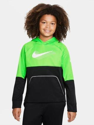 KIDS Big Kids' (Boys') Graphic Pullover Training Hoodie (Extended Size) Nike Therma-FIT